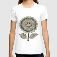 mineral T-shirts featuring Fabby Flower-Mineral colors by Groovity