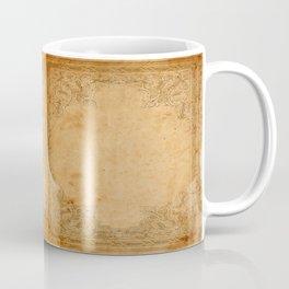 Aged Framed Paper Coffee Mug