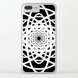 Not Quite Tangled Inside Out Clear iPhone Case