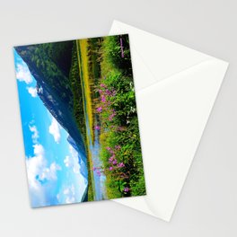 God's Country - Summer in Alaska Stationery Cards