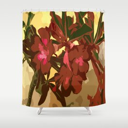 Beautiful Excotic Flowers Shower Curtain