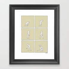The March of Progress Framed Art Print
