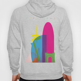 Shapes of Barcelona. Accurate to scale Hoody