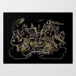 project 5 Art Print