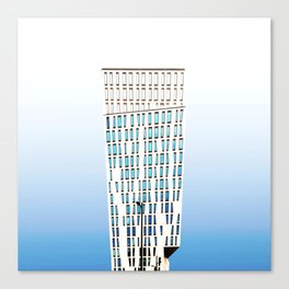 Architecture Pop Canvas Print