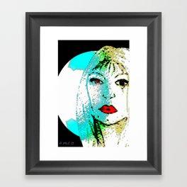 Quiet Emotion Framed Art Print