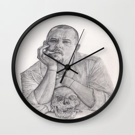 Alexander McQueen Savage Beauty Drawing Wall Clock
