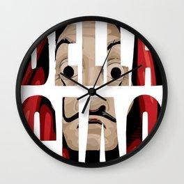 BELLA CIAO ! Wall Clock