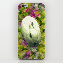 Lapin et de Fleurs iPhone Skin