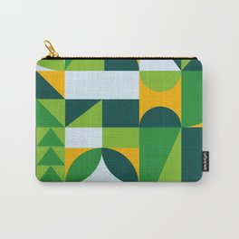 Environmentally abstract Carry-All Pouch