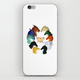Wings of Fire All Together iPhone Skin