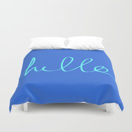 Hello, Sailor Duvet Cover