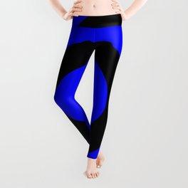 Target (Black & Blue Pattern) Leggings