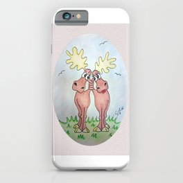 Never mind calm. Keep hugging! iPhone Case