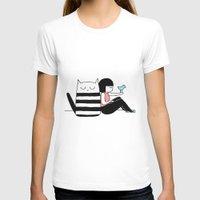 best friends T-shirts featuring Best Friends by Regina Rivas Bigordá