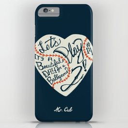 Mr. Cub iPhone Case