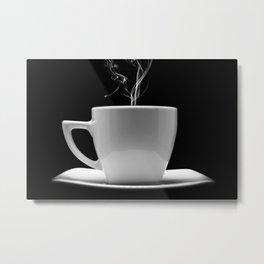 Coffee Shop Decor Metal Print