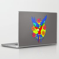 parrot Laptop & iPad Skins featuring Parrot by lescapricesdefilles