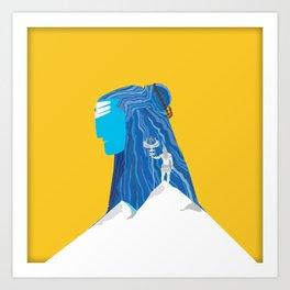 Shiva - The Destroyer Art Print