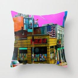 Chop Suey Throw Pillow