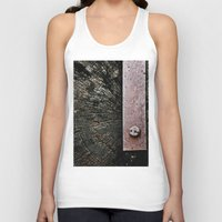 wooden Tank Tops featuring Wooden Energy by AJ Calhoun