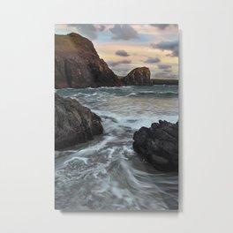 Kynance Cove, The Lizard, Cornwall, England, United Kingdom Metal Print