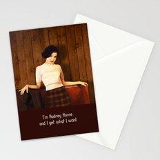 Audrey Horne Stationery Cards
