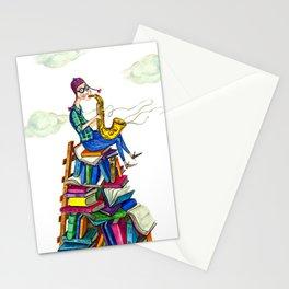 Jazzy books Stationery Cards