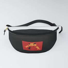 Pocket Cat Fanny Pack