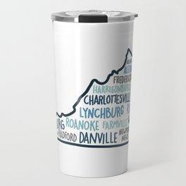 Cities of Virginia Travel Mug