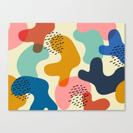 Camouflage Chic Canvas Print