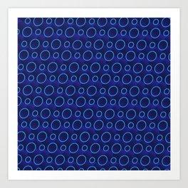 3D Lovely Pattern X 3 Art Print