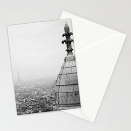 Paris from Montmarte Stationery Cards
