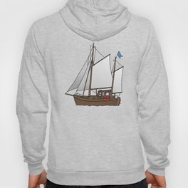 Sailing boat cutter Hoody