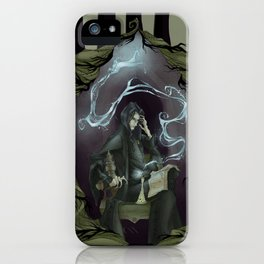 Tragically Ever After: Severus Snape iPhone Case