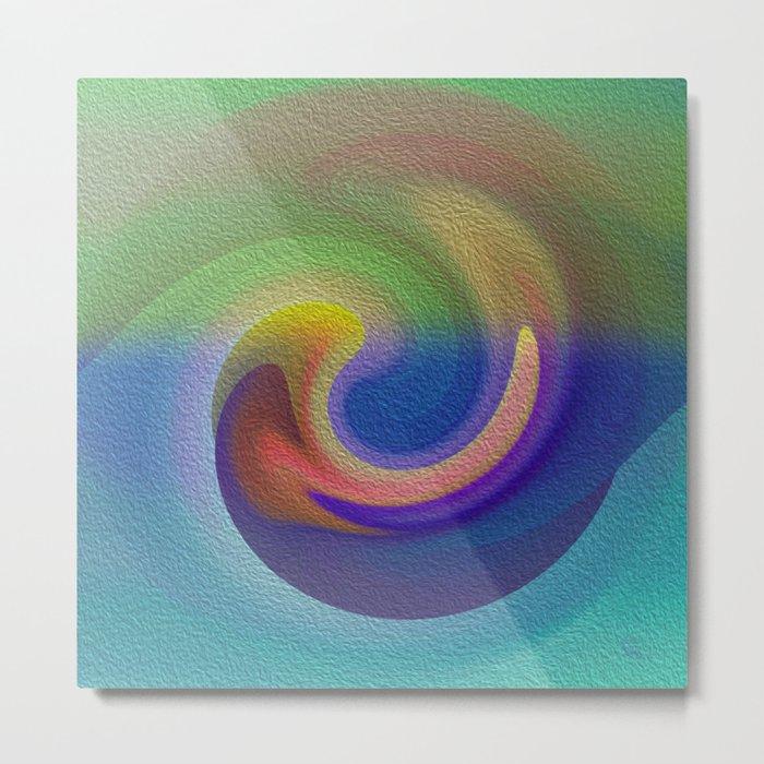 Ocean Wave Number Three Metal Print