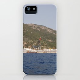 Wreck Of The Costa Concordia iPhone Case