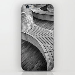 curves iPhone Skin