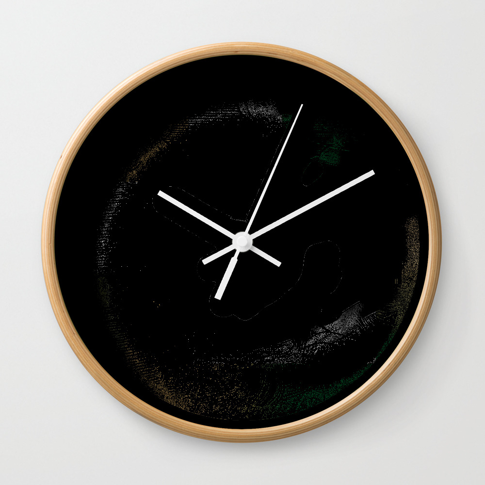 Storm In A Cup Wall Clock by Adhesive CLK8492934