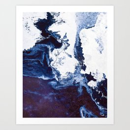 Surface in Concept #abstract Art Print
