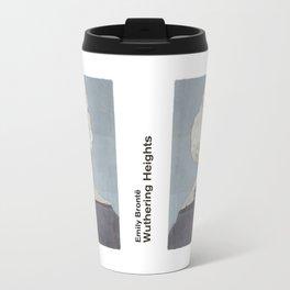 Emily Brontë Wuthering Heights - Minimalist literary design Travel Mug
