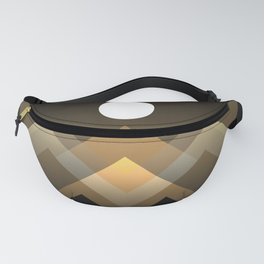 Path between hills Fanny Pack