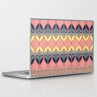 boho Laptop & iPad Skins featuring Boho Daisy by RED ROAD STUDIO