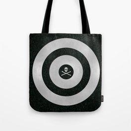 Silver Target Tote Bag