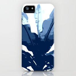Navy Banana iPhone Case