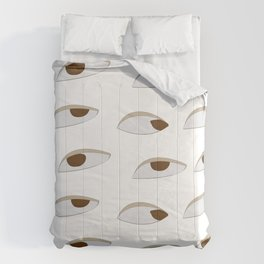 side eyes Comforters