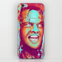 the shining iPhone & iPod Skins featuring Shining by Retkikosmos