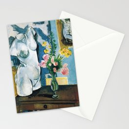 The Plaster Torso - Henri Matisse - Exhibition Poster Stationery Cards