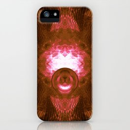 Reflections on Inner Space iPhone Case