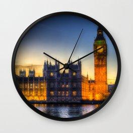 Westminster London Wall Clock